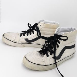 VANS White High Top Sneakers